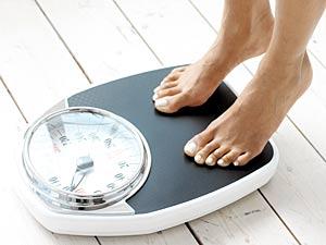 つま先立ちしても体重は減りません(笑)
